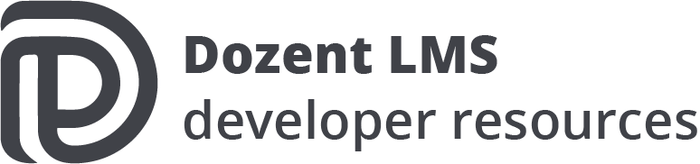 Dozent LMS developer documentation